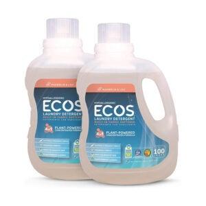 The Best Natural Laundry Detergent Option: ECOS 2X Hypoallergenic Liquid Laundry Detergent