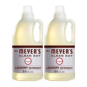 The Best Natural Laundry Detergent Option: Mrs. Meyer's Clean Day Liquid Laundry Detergent