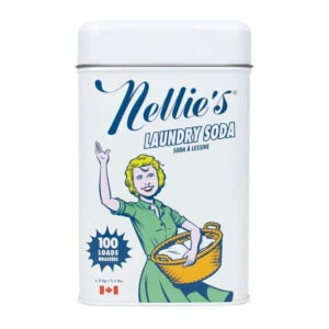 The Best Natural Laundry Detergent Option: Nellie's Non-Toxic Vegan Powdered Laundry Detergent