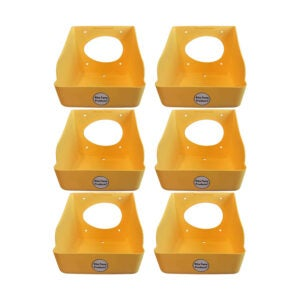 The Best Nest Box Option: Rite Farm Products 6-Pack Poly Egg Nesting Box