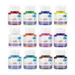 最佳玻璃漆选择:B BEARALS玻璃漆,彩色玻璃漆12种颜色