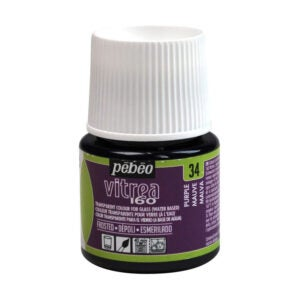 The Best Paint for Glass Option: Pebeo Vitrea 160, Frosted Glass Paint, 45 ml Bottle