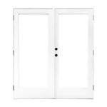 The Best Patio Doors Option: MP Doors 60 in. x 80 in. Fiberglass Smooth White