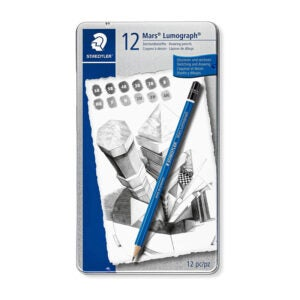最好的铅笔选项:Staedtler Mars Lumograph艺术绘图铅笔