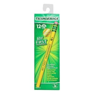 最好的铅笔选项:Ticonderoga我的第一条铅笔