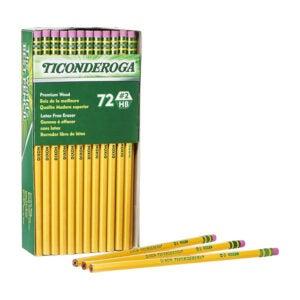 最好的铅笔选项:Ticonderoga铅笔