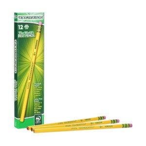 最好的铅笔选项:Ticonderoga Woodcase铅笔,#4 2H额外努力