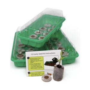 The Best Seed Starting Mix Option: Window Garden Seed Starting Kit – Complete Supplies