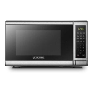 The Best Small Microwave Option: BLACK+DECKER EM720CB7 Digital Microwave