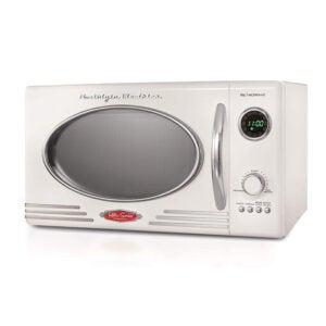 The Best Small Microwave Option: Nostalgia RMO4IVY Retro Countertop Microwave Oven
