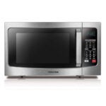 The Best Small Microwave Option: Toshiba EC042A5C-SS Countertop Microwave Oven