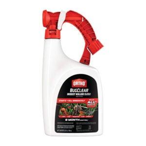 最好的蜘蛛杀手选择:Ortho BugClear昆虫杀手草坪和景观
