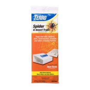 最佳蜘蛛杀手:TERRO T2306蜘蛛和昆虫陷阱