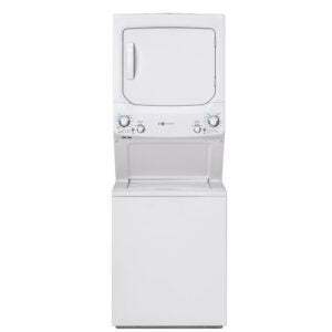 The Best Stackable Washer and Dryer Option: GE Gas Dryer Laundry Center