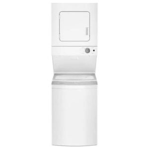 The Best Stackable Washer and Dryer Option: Whirlpool Electric Stacked Laundry Center