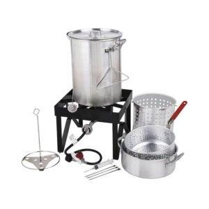 The Best Turkey Fryer Option: Backyard Pro 30 Qt. Deluxe Aluminum Turkey Fryer Kit