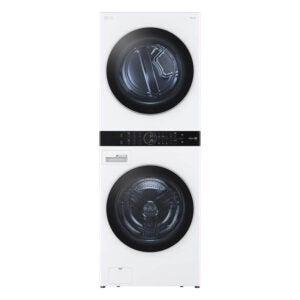 最佳洗衣机和烘干机选择:LG电子WKEX299HWA单元式洗涤塔