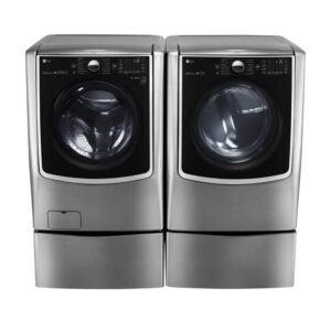 最好的洗衣机和烘干机选项:LG Electronics WM9000HVA洗衣机和Dlex9000V烘干机