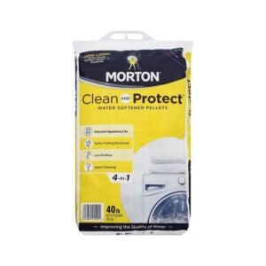 最佳水软化剂盐选项:莫顿清洁和保护II水软化颗粒