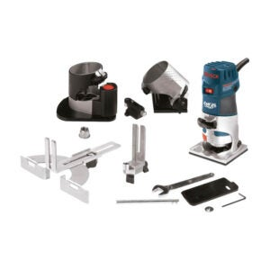 The Best Wood Router for Beginners Option: Bosch Router Tool, Colt 1-Horsepower 5.6 Amp