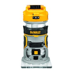 The Best Wood Router for Beginners Option: DEWALT 20V Max XR Cordless Router, Tool Only