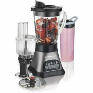 最佳搅拌机食品处理器组合选项:汉密尔顿海滩波浪破碎机搅拌机