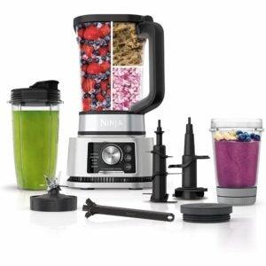 The Best Blender Food Processor Combo Option: Ninja Foodi SS351 Power Blender & Processor
