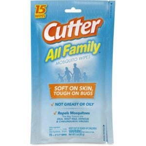 The Best Bug Spray for Kids Option: Cutter Resealable Pouch, Family Mosquito Wipes