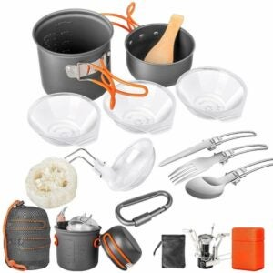 The Best Camping Cookware Option: Limechoes Camping Cookware Set