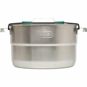 最好的野营炊具选项:Stanley Base Camp Cook设置为4个嵌套炊具