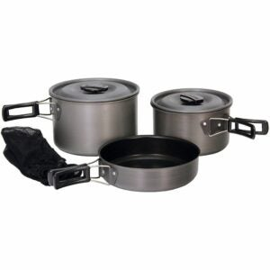 The Best Camping Cookware Option: Texsport Black Ice The Scouter Camping Cookware Set
