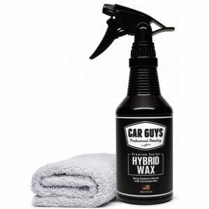 The Best Car Wax Option: CAR GUYS Hybrid Wax - Advanced Car Wax