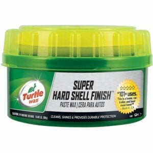 The Best Car Wax Option: Turtle Wax T-223 Super Hard Shell Paste Wax