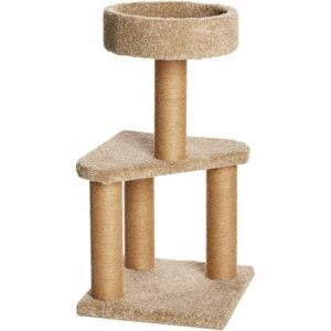 The Best Cat Tree Option: Amazon Basics Cat Activity Tree with Scratching Posts