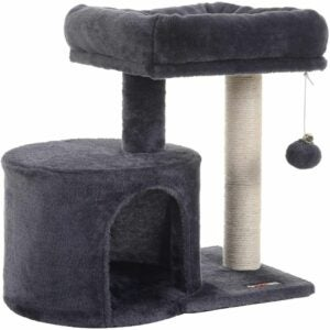 The Best Cat Tree Option: FEANDREA Cat Tree with Sisal-Covered Scratching Posts