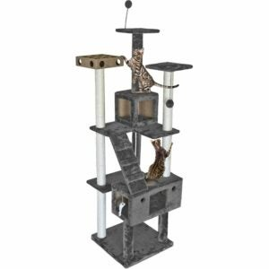 The Best Cat Tree Option: Furhaven Pet - Tiger Tough Tall Cat Tree Playground