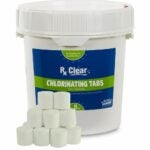 The Best Chlorine Tablets Option: Rx Clear 1-Inch Stabilized Chlorine Tablets
