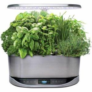 最好的水培系统选项:Aerogarden Bounty Elite室内水培花园