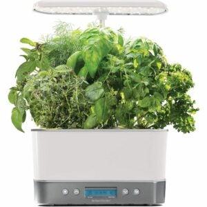 最佳水培系统选择:空中花园收获精英-白色