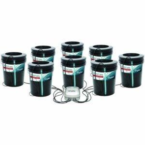 最好的水培系统选项:水加工机制根SPA 8,5加仑桶系统