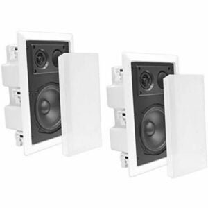 The Best In Wall Speakers Option: Pyle Ceiling Wall Mount Enclosed Speaker - 400 Watt
