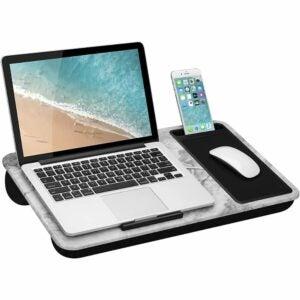 最好的笔记本电脑立场选项:Lapgear Home Office Lap桌子与设备壁架