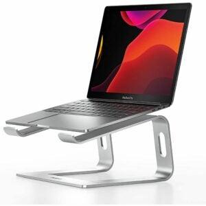 最好的笔记本电脑立场选项:nulaxy笔记本电脑支架,人体工学