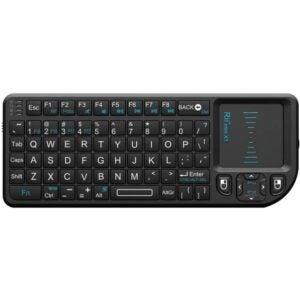 The Best Mini Keyboard Option: Rii 2.4G Mini Wireless Keyboard with Touchpad Mouse