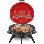 The Best Outdoor Electric Grill Option: Techwood Electric BBQ Grill Portable Grill