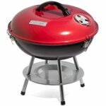 The Best Portable Charcoal Grill Option: Cuisinart CCG190RB Portable Charcoal Grill