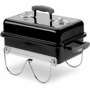 The Best Portable Charcoal Grill Option: Weber 121020 Go-Anywhere Charcoal Grill