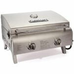 The Best Small Grill Option: Cuisinart CGG-306 Chef's Style Propane Tabletop Grill