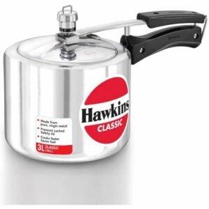 The Best Stovetop Pressure Cooker Option: HAWKIN Classic 3-Liter New Aluminum Pressure Cooker