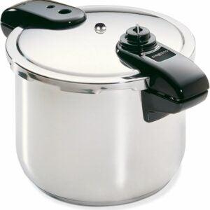 The Best Stovetop Pressure Cooker Option: Presto 01370 8-Quart Stainless Steel Pressure Cooker